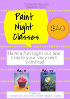 Creative Paint Night Classes