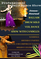 Professional Belly dance show for you