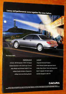 1999 ACURA 3.0 CL COUPE RETRO AD - ANONCE 90S