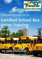 Interested in becoming a School Bus Driver?