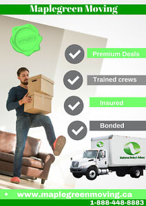 MOVING SERVICES YOU DESERVE ** CALL US NOW**