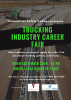 Trucking Industry Career Fair - Sept 28 at Cole Harbour Place