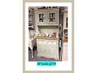 Vintage , shabby chic country dresser