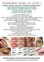 Permanent makeup certification internationally accredited