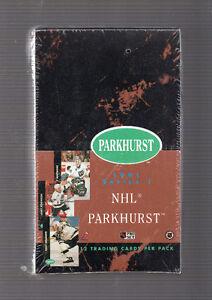 BOITE PARKHURST  1991  SÉRIE 1 ENCORE SCELLER