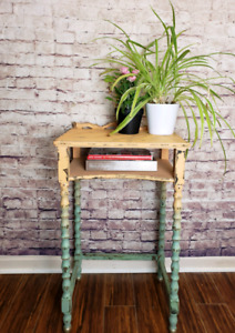 Rustic lil telephone table