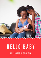 Newborn - In Home Lifestyle Session