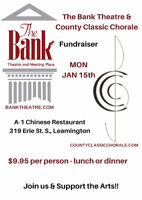 The Bank Theatre & Country Classic Chorale Fundraiser