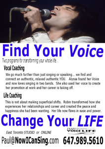 Online SINGING Vocal Coaching Lessons - Enjoy Learning at Home!