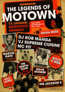 Legends of Motown, Saturday October 13 - Confederation Centre
