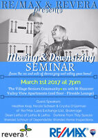 Thinking of Downsizing?? Join Us For Our Upcoming Seminar