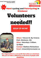 VOLUNTEERS ! Bike Riding Assistant