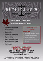 Full Service Canadian Immigration Assistance