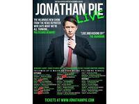Jonathan pie ticket Cheltenham friday