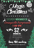 Christmas Craft Show ORANGEVILLE Vendor space available
