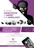 Security cameras for home and businesses