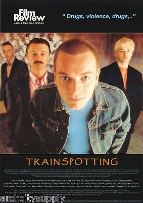 Poster:movie Repro: Trainspotting - Film Review - Free Shipping Ac066 Lc30 D