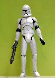 Star Wars The Clone Wars AT-TE Clone Trooper Loose
