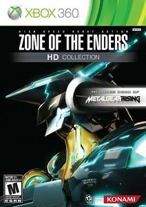 XBOX 360 GAME ZONE OF THE ENDERS HD COLLECTION