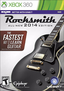 Rocksmith 2014 with cable - AS NEW