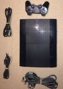 PS3 Super Slim - 250GB - GREAT CONDITION !!