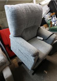 Recliner Chair - Ex-Displafy Oaktree XL Greyish a Multicoloured S