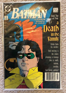 Batman 427, 1988 DC Comics Death of Robin, a Death in the family