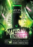 Neon Energy Rep - $100 SIGNING BONUS