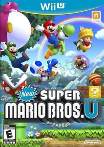 WiiU jeu video:  New Super Mario Bros U. seulement $30