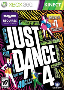 Just Dance 4, Xbox 360