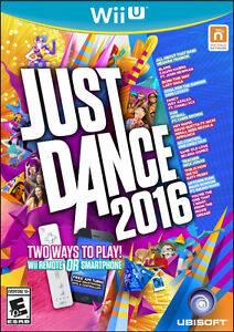 Just Dance 2016 for Wii U - new, in a store-opened box