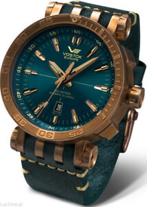 Vostok Europe Energia 2 Bronze Automatic Watch NH35-575O286
