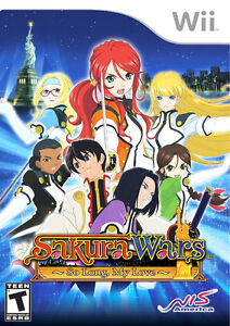 Looking for / Cherche Sakura Wars So Long My Love - Nintendo WII