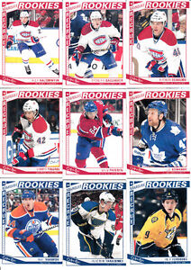 2013-14 UPPER DECK O-PEE-CHEE SERIE COMPLETE 1-600
