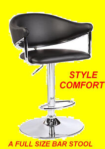 ADJUSTABLE HEIGHT SWIVEL BAR STOOL WITH CUSHION $139.99 ONLY Oakville / Halton Region Toronto (GTA) image 1