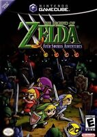Legend of zelda: four swords sur gamecube RARE