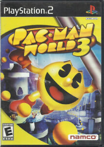 PS2 Pac Man World 3 for Playstation 2 PS2  game - disc - no manu