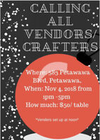 Craft Sale- Vendors Wanted