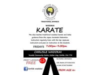 Karate class. ( First Lesson FREE)