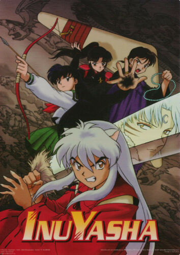 SMALL POSTER :Anime Manga: : InuYasha - FIGHT SCENE -  #MP3367     RC29 F-R