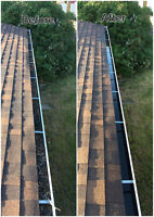EAVESTROUGH CLEANING*FALL CLEAN UP* 4Season's Landscaping