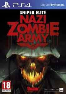 LOOKING TO TRADE FOR A MINT COPY OF ZOMBIE ARMY TRILOGY FOR PS4 Cambridge Kitchener Area image 3