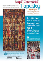 Royal Ceremonial Tapestry Exhibition