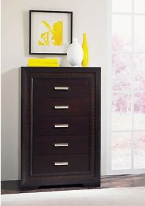 Brentwood Chest (Cherry - 5 Drawer) brand new from the Brick