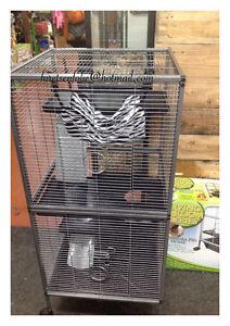 Cages neuves pour furet,chinchilla,rat,rongeur 195$