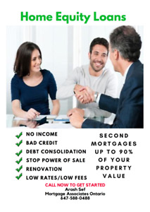 Private Lender 1st & 2nd Mortgages / Home Equity Loans