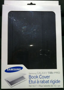 Black Samsung Galaxy Tab Pro, 10.1 - inch Book Cover, NEW, 10.1""