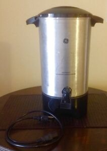 GE hot water urn