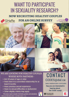 Couples Sexuality and Relationship Study