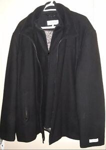 Calvin Klein Wool Dress Jacket